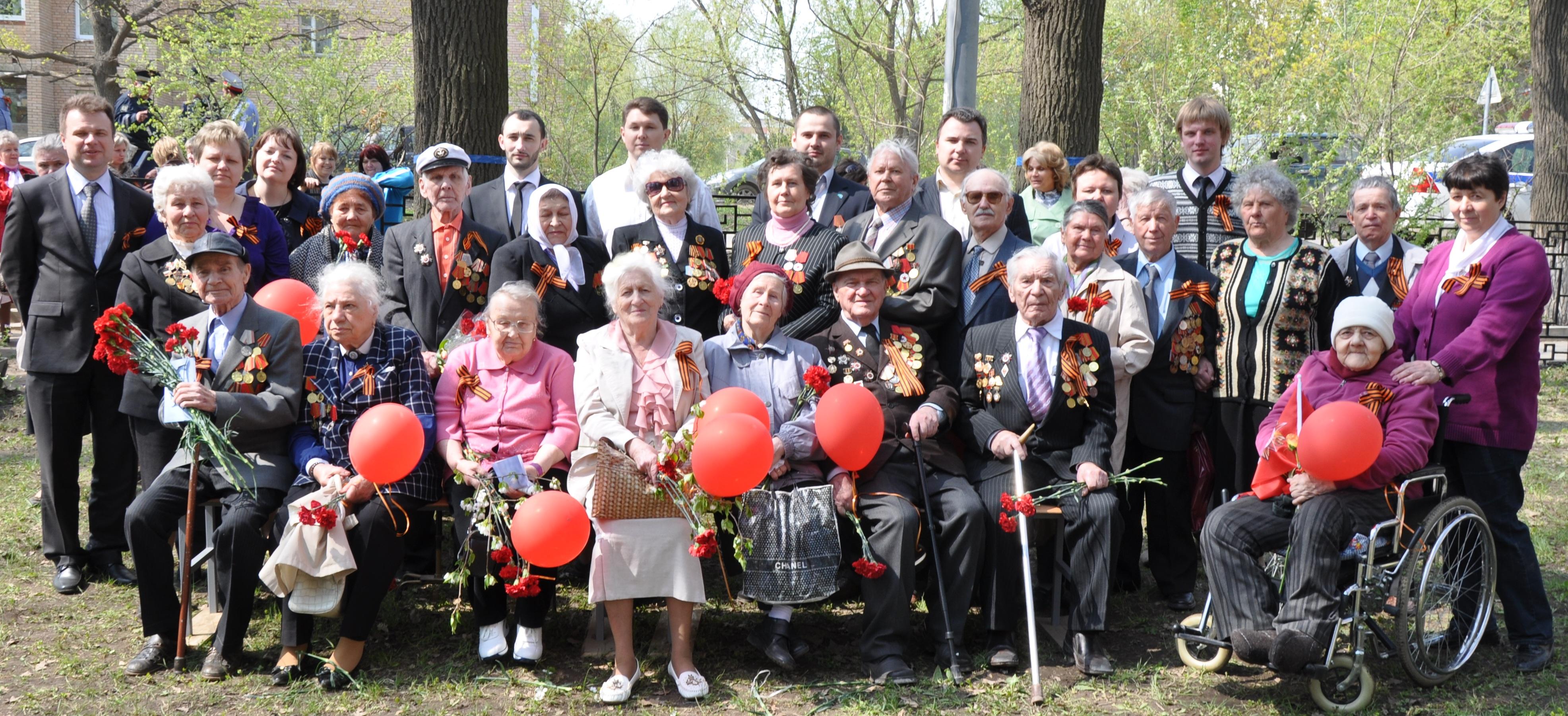 День Победы в г.п. Лесной городок