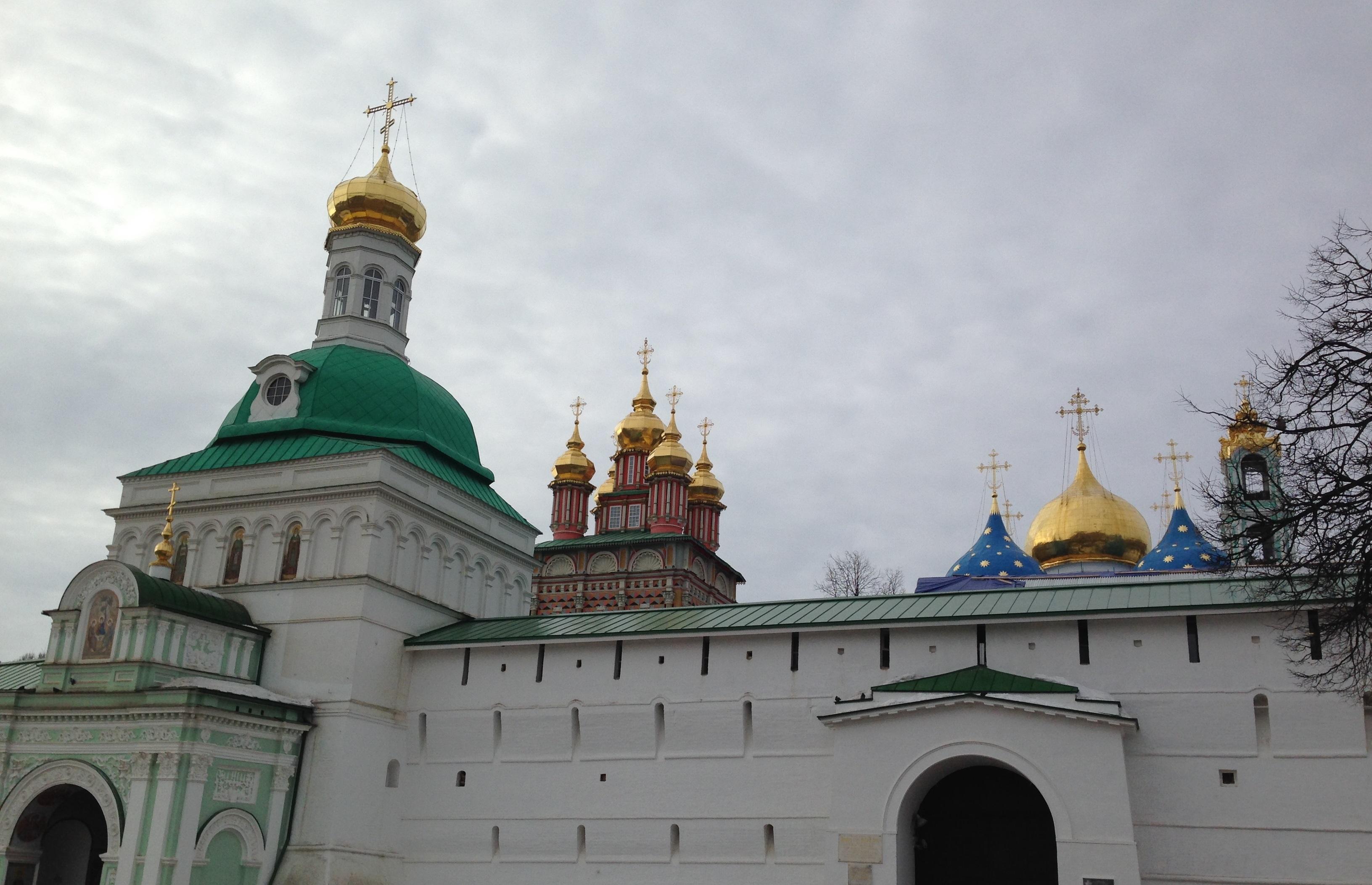 Сергиев Посад и Александров