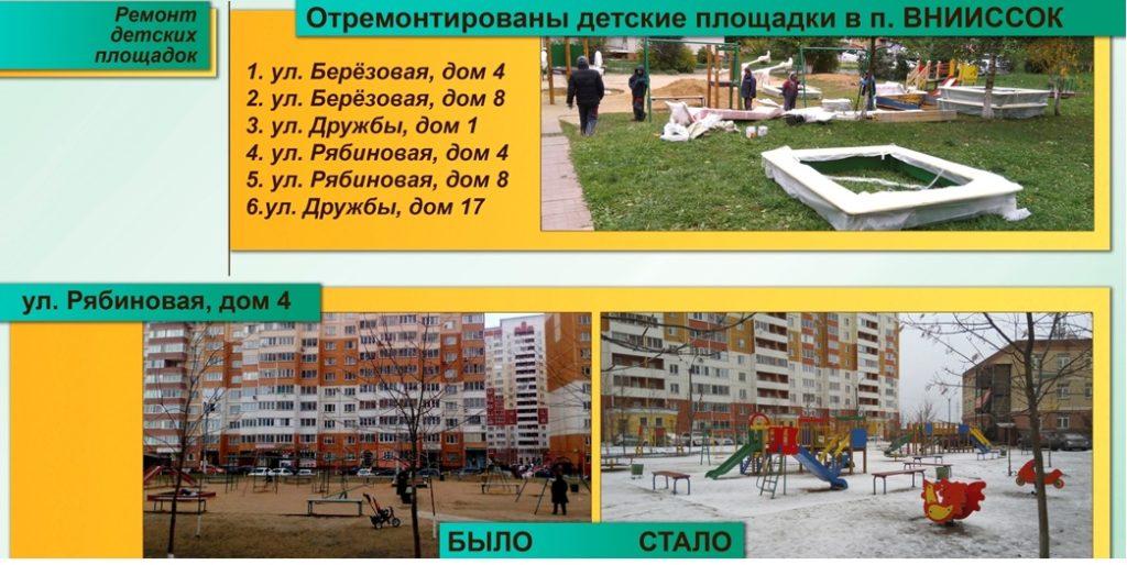 Отчет о работе 2014-2019