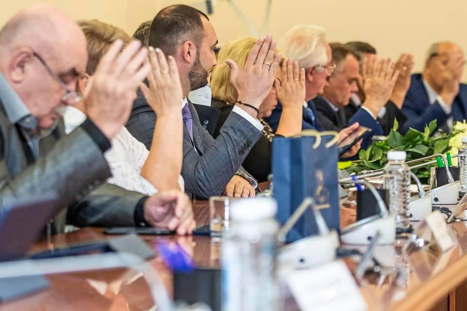 Заседания Совета депутатов Одинцовского городского округа.