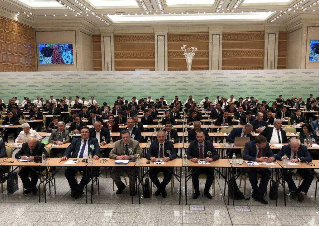 Заседание Межправительственного координационного совета по вопросам семеноводства СНГ в Туркменистане