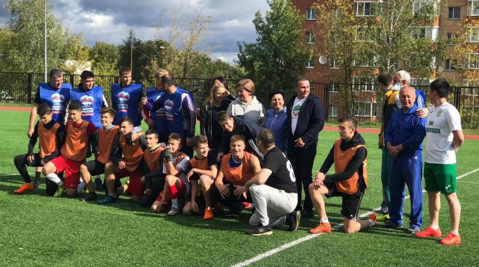 Алексей Солдатенко принял участие в спортивных мероприятиях в Лесном городке