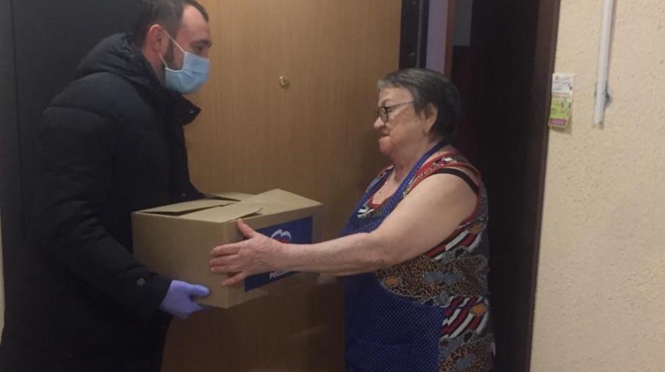 Алексей Солдатенко оказал продовольственную помощь жителям Одинцово