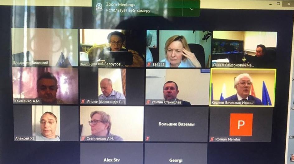 Алексей Солдатенко принял участие в еженедельном партийном часе и политсовете местного отделения «Единой России» в Одинцово