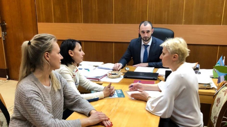 Алексей Солдатенко обсудил вопросы сотрудничества Центра овощества и Одинцовской лингвистической гимназии