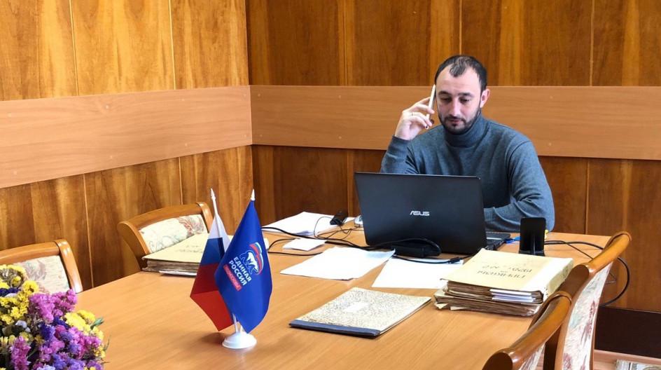 Алексей Солдатенко провел дистанционный прием населения