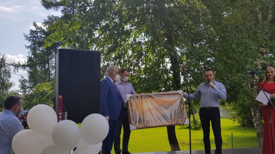 Алексей Солдатенко посетил празднование Дня медика в Перхушковской больнице