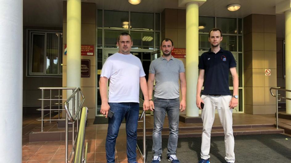 Алексей Солдатенко проверил содержание избирательных участков в Лесном Городке и поселке ВНИИССОК