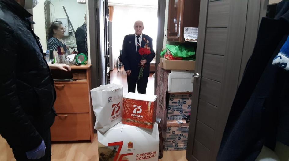 Алексей Солдатенко поздравил ветеранов с Днем Победы в рамках акции «Звонок ветерану» и передал им подарки