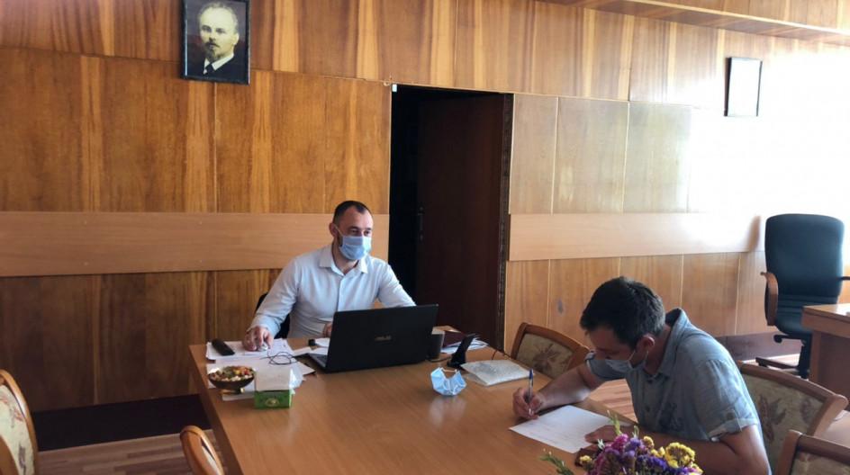 Алексей Солдатенко провел очередной прием в поселке ВНИИССОК