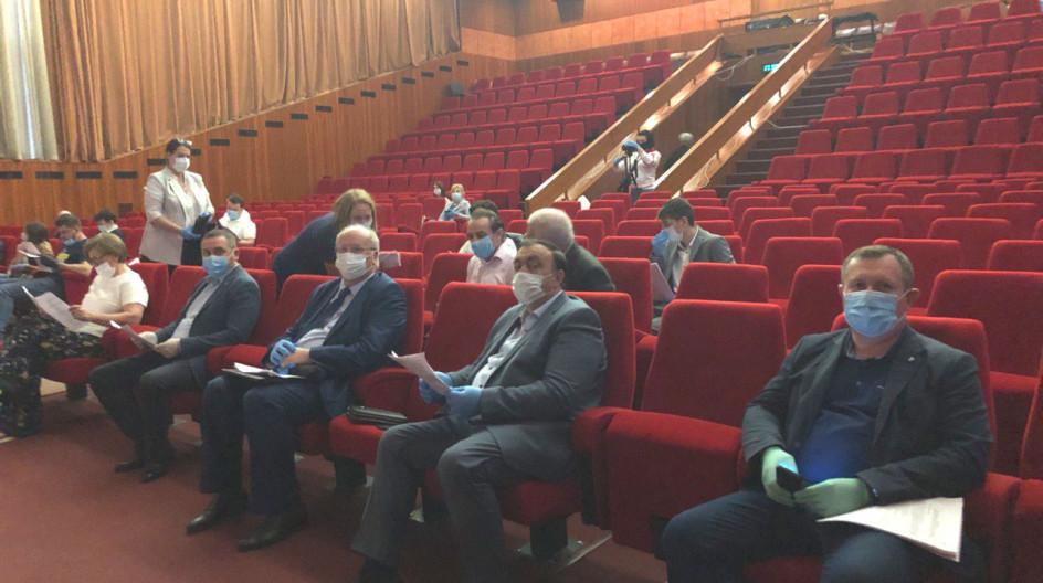Алексей Солдатенко принял участие в первом после карантина очном заседании партчаса