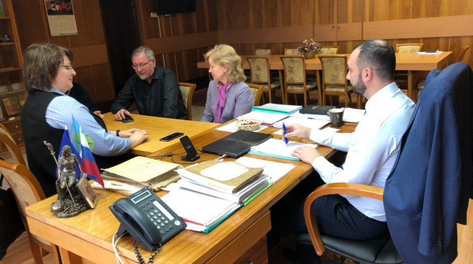 Алексей Солдатенко провел встречу по вопросу сотрудничества с Одинцовским десятым лицеем