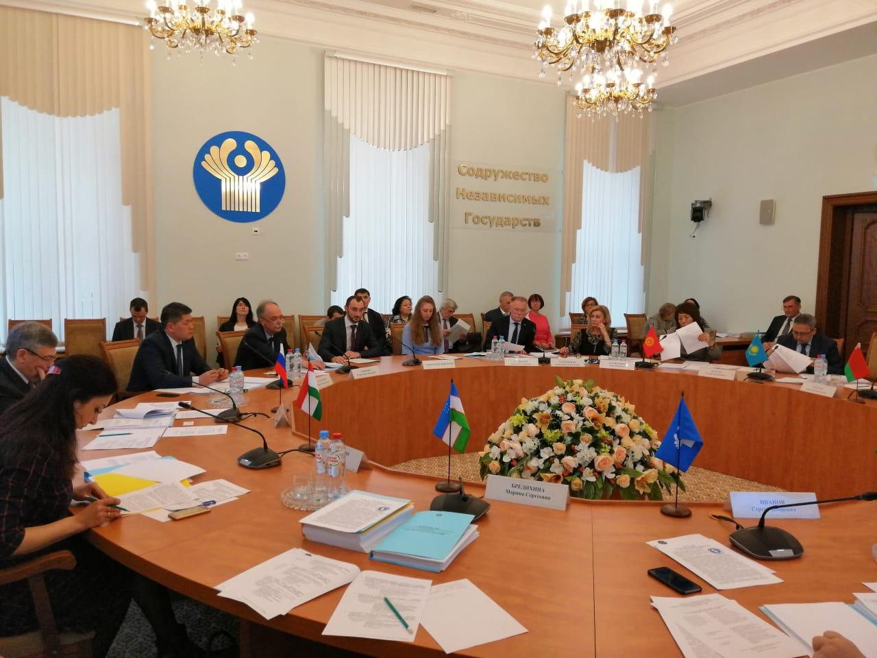 Заседание экспертной группы Комиссии по экономическим вопросам при Экономическом совете СНГ