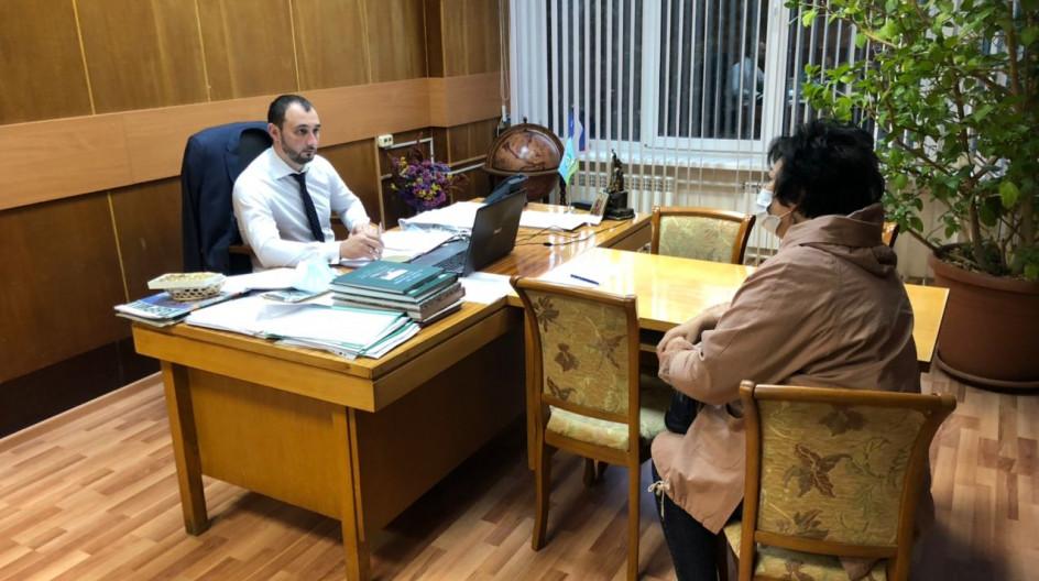 Алексей Солдатенко провел прием населения в поселке ВНИИССОК