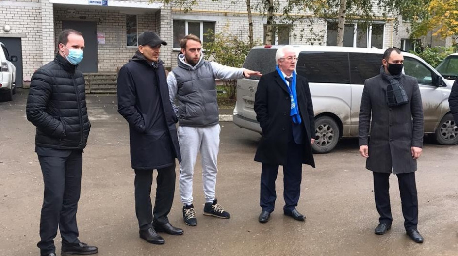 Алексей Солдатенко проверил ход проведения комплексного благоустройства в посёлке Лесной Городок
