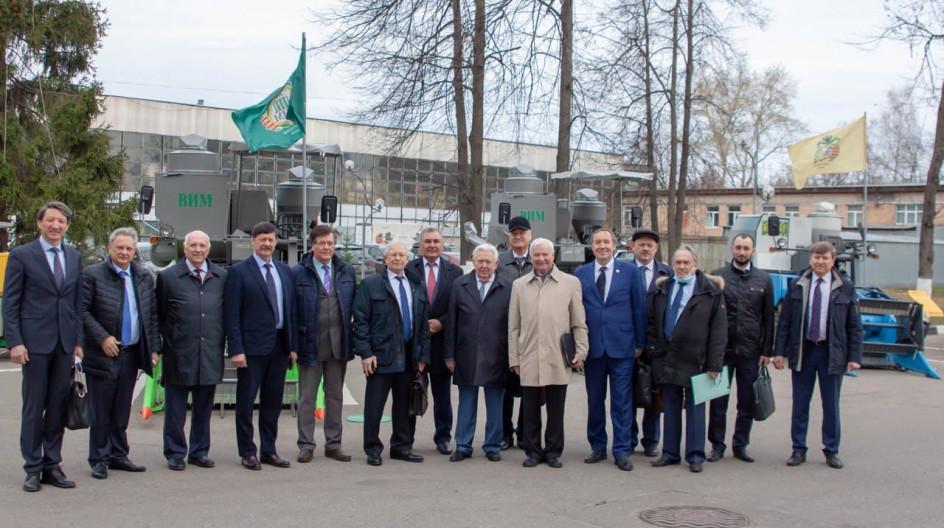 Алексей Солдатенко принял участие в ежегодном собрании отделения сельхознаук Российской академии наук