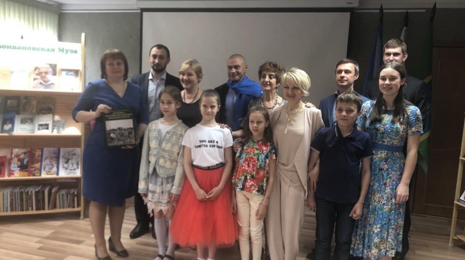 Алексей Солдатенко принял участие в мероприятии по случаю Международного Дня библиотек