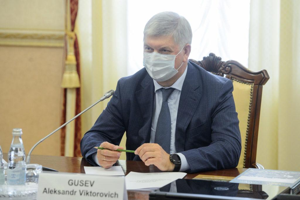 Встреча с губернатором Воронежской области Александром Гусевым